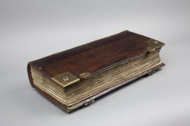 Parish Register, 1558-1653, Holy Trinity Church, Stratford-upon-Avon | Courtesy of Shakespeare Birthplace Trust