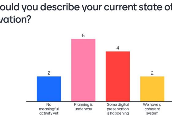 Progress in Digital Preservation